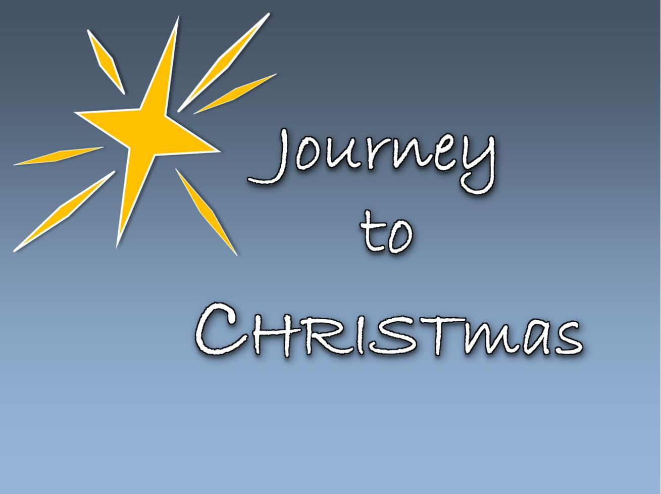 Journey to CHRISTmas!