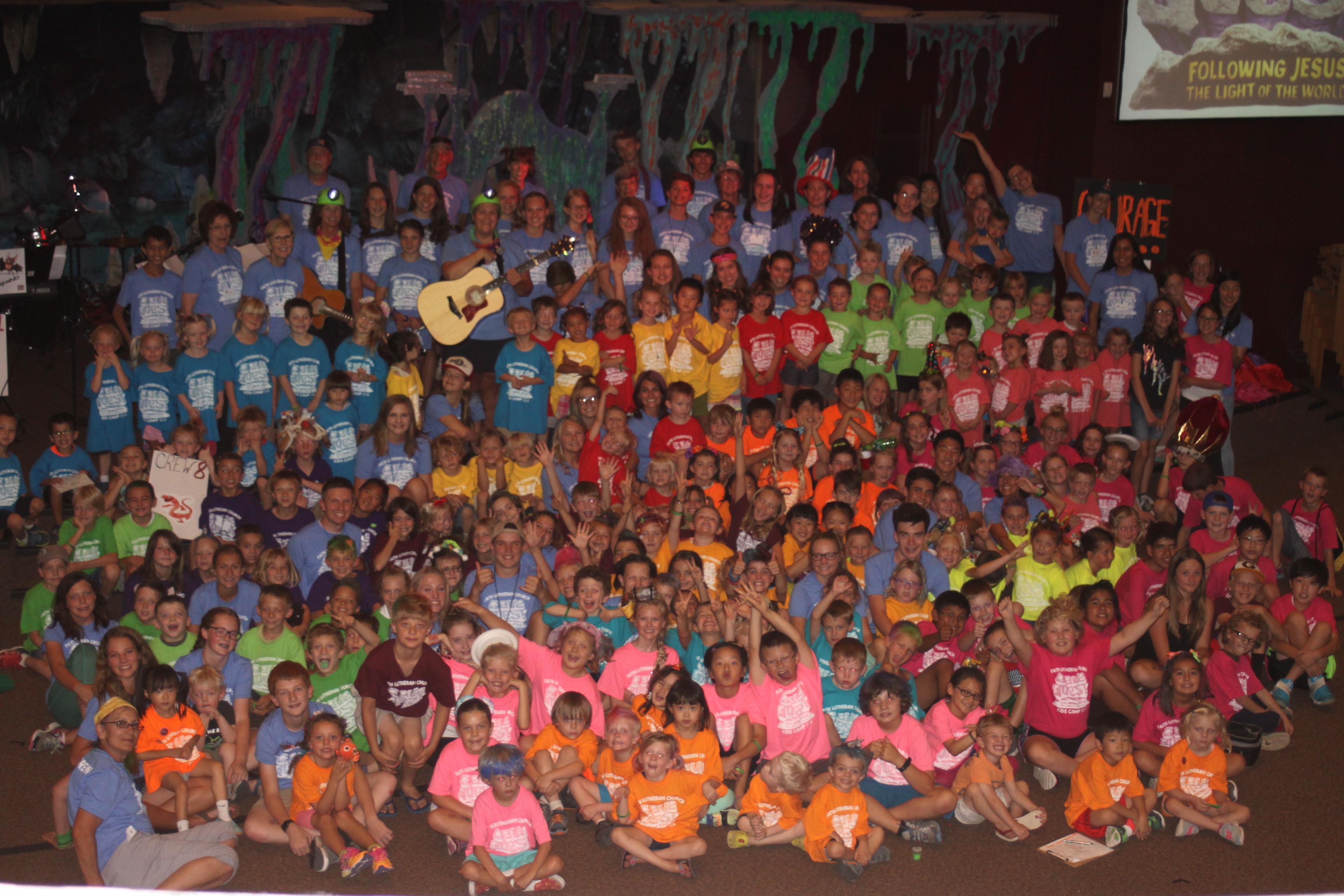 Kids Camp Sunday