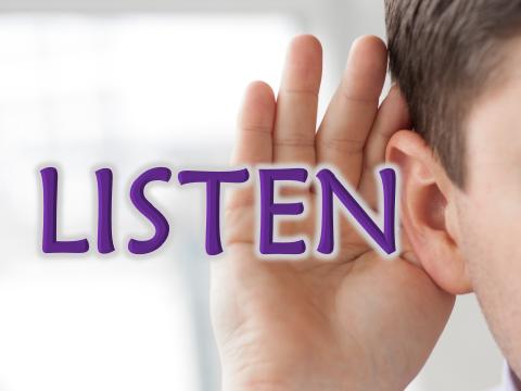 Lent Is…Listen